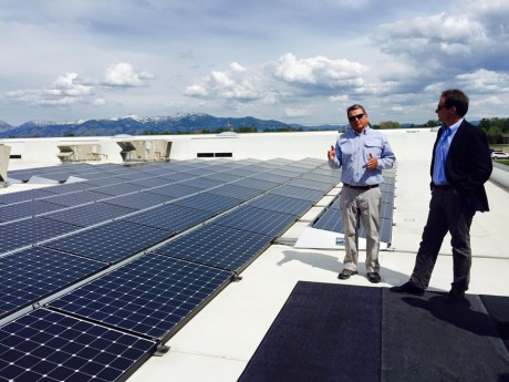 Bozeman mt solar electric power project detail for Simms fishing jobs