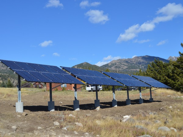 Solar Power in the Madison Valley!