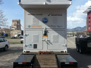 Installation complete, the lab is ready to roll from Bozeman to Missoula