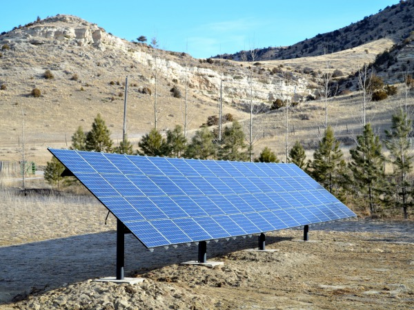 The Hill's 15.3 kW solar installation in Three Forks, MT