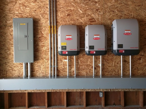 Fronius Inverters: 3.8, 6.0, and a 10.0