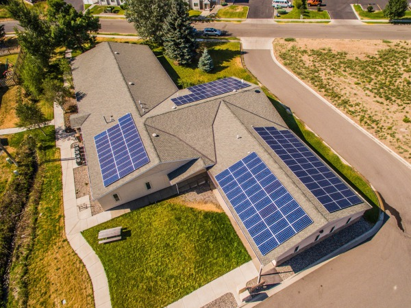 The Haug Professional Buidling 50 kW Solar Array