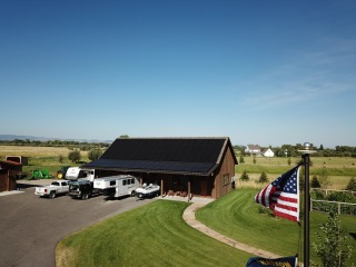 Stars and stripes with 28.8 kW!